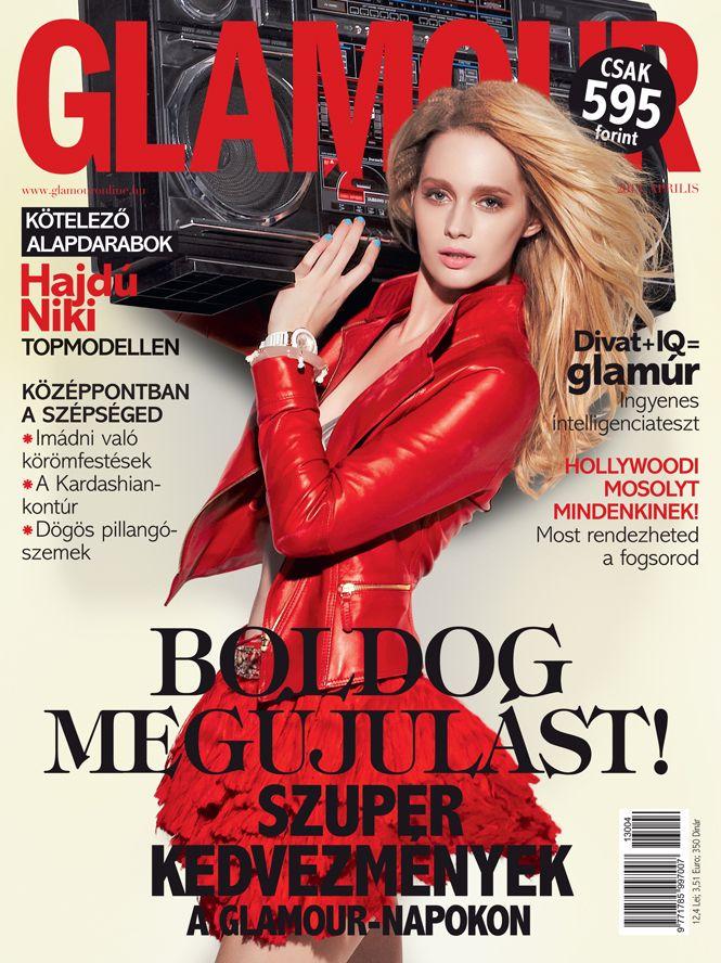 Niki Hajdú, April 2013 issue, Photo by Norbert Zsólyomi