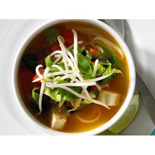 Tom yum seafood with vermicelli soup recipes