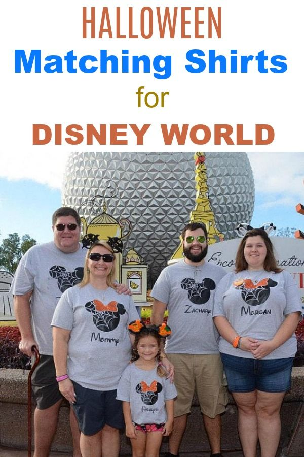 85324494d Disney vacation outfits and clothes -- These matching Halloween shirts are  great for your family's next trip to Disney World! Your choice of T-Shirt,  ...