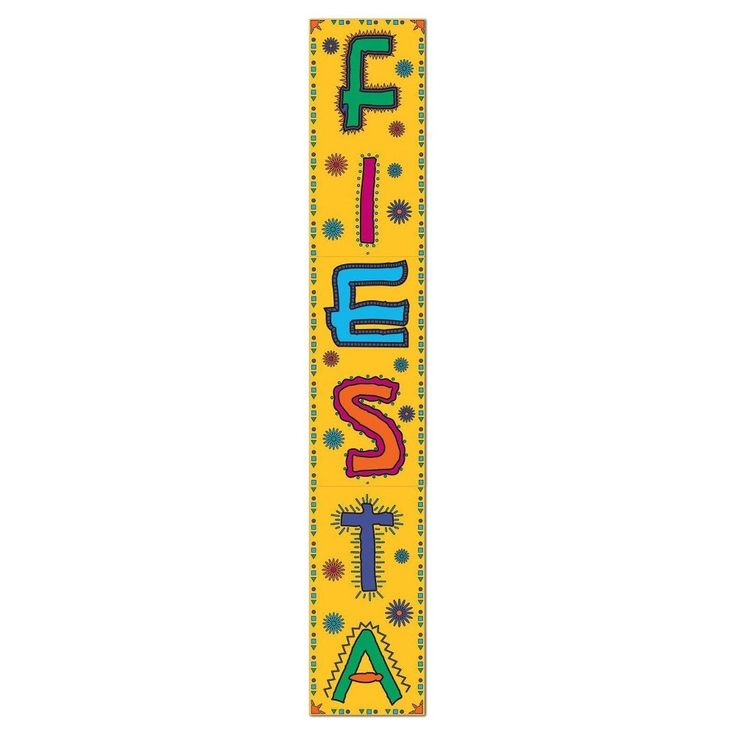 Fiesta Jointed Banner, Party Decoration