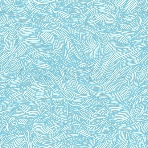 Stock Vector Of Abstract Light Blue Hand Drawn Pattern Waves Background Seamless Can Be Used For Wallpaper Fills Web Page