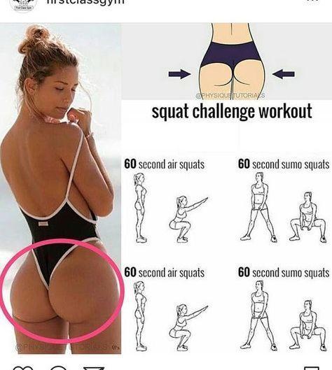 squat challenge workout – #Challenge #squat #workout – Carmen Minova