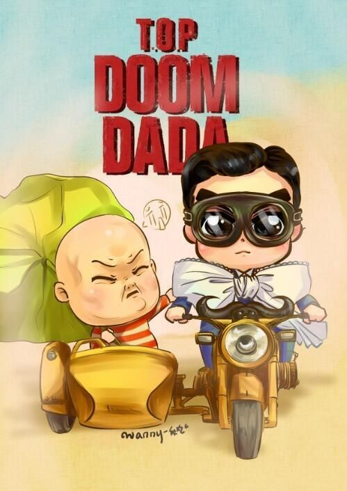 TOP Doom Dada this is so~ adorable. I like little TOP so much in this picture. ≧﹏≦