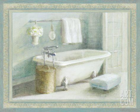 Refreshing Bath II Art Print by Danhui Nai at Art.com