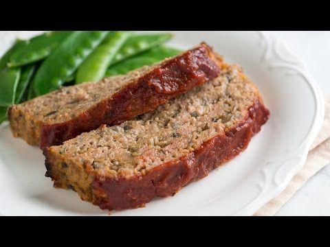 Unbelievably Moist Turkey Meatloaf Recipe  |   Inspired Taste