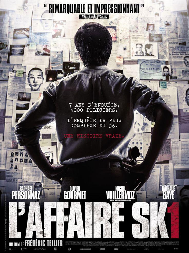 L' Affaire SK1 (2015 -Janv.) ; ce film prend une résonance encore plus terrible  aujourd'hui par la traque d'un fou, les attentats de 1995 en parallèle. Certes, ce film ne vous redonnera pas du tout le sourire en ces temps noirs, mais ne passez pas à côté. ;-)