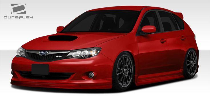 2008-2010 Subaru Impreza WRX 5DR Duraflex C-Speed Body Kit - 5 Piece