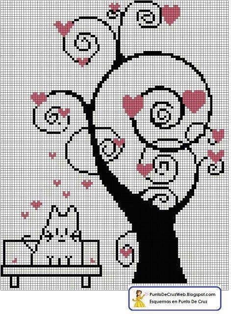 Valentine's Heart Tree.
