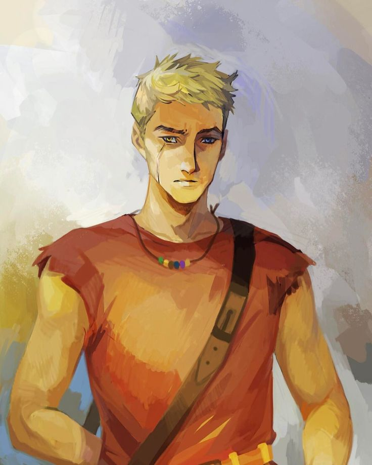 Rick Riordan - Another treat for the weekend, compliments of Viria: our old friend Luke Castellan. See the full portrait and more on my website!