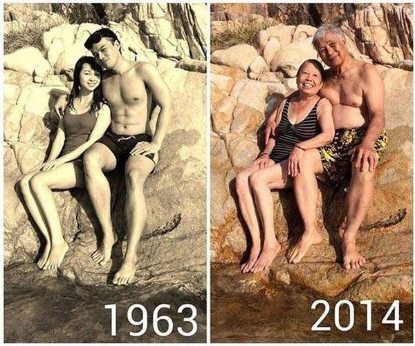 Still together after all these years!  Check Out These Hilariously Recreated Childhood Photos • Page 3 of 6 • BoredBug