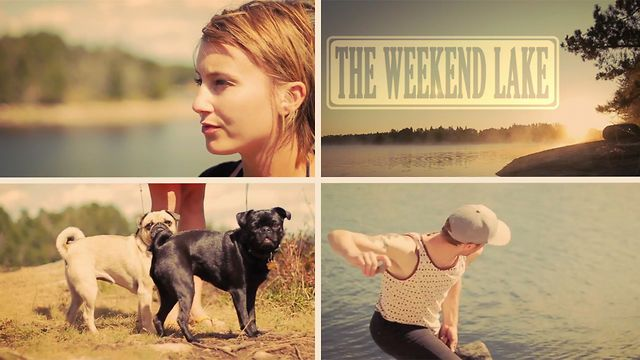 A little video of our weekend getaway to the new family cabin.   Little piece of paradise.Song:  Welcome Home SonBand:  Radical FaceGirl:  Lauren SellenBoy:  MeDogs:  Petunia   Clementine