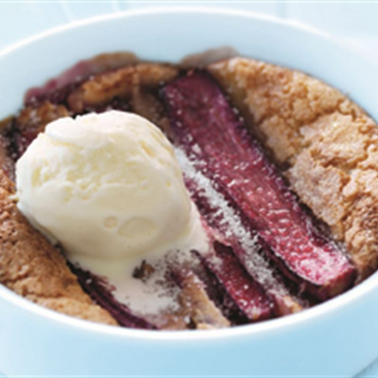 Try this Rhubarb Puddings recipe by Chef Donna Hay. This recipe is from the show Donna Hay – Fast, Fresh, Simple.