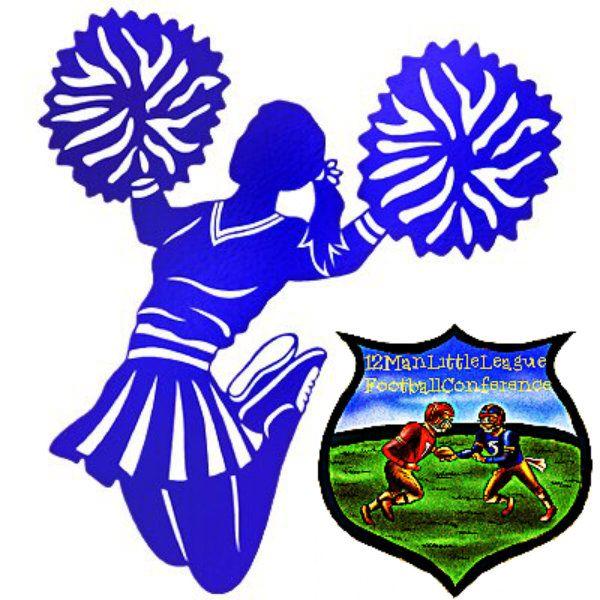 12Man Little League Football Cheer Sqauds