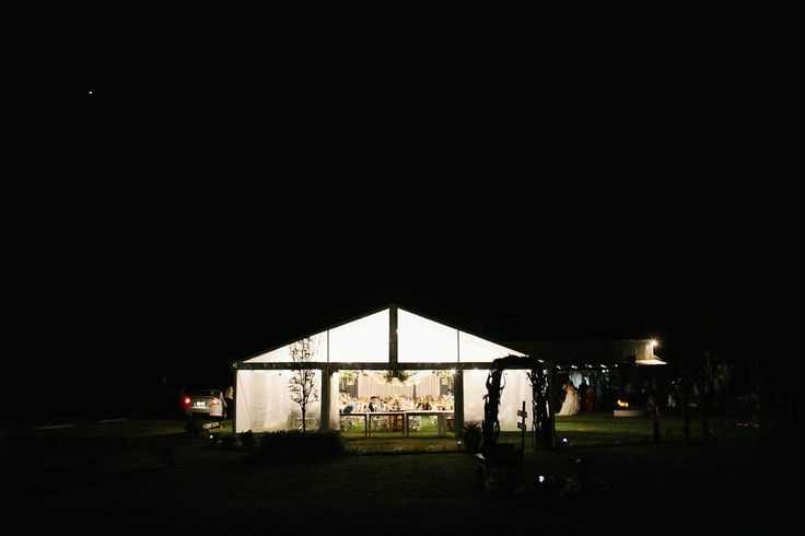 full clear marquee, festoon lighting, south coast weddings, marquee weddings, south coast party hire