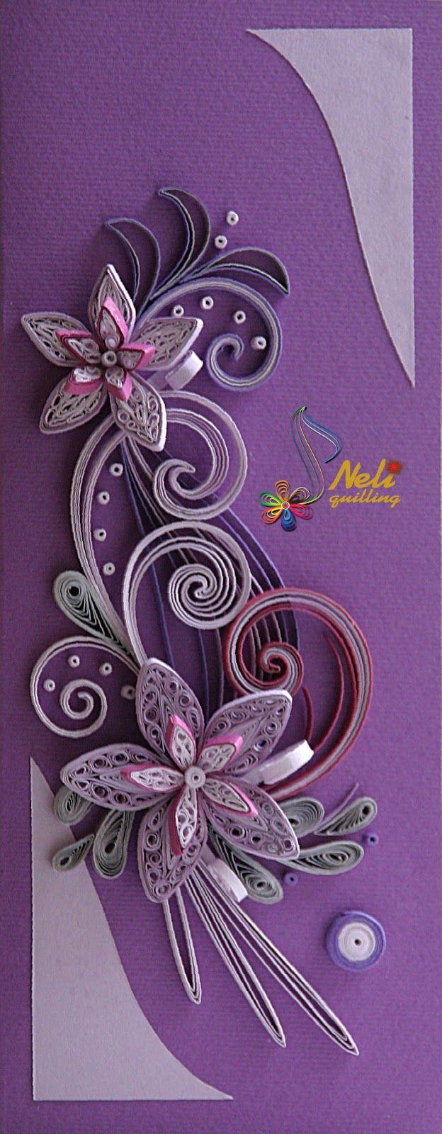 Neli Quilling Art: Quilling cards
