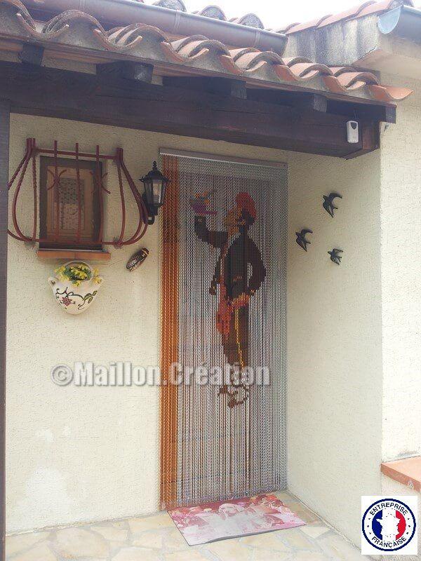 rideaux de porte catalan rideau de