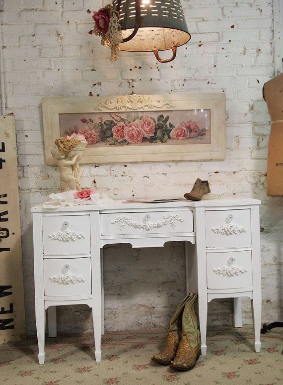 96 Best Images About Shabby Chic Home Office On Pinterest