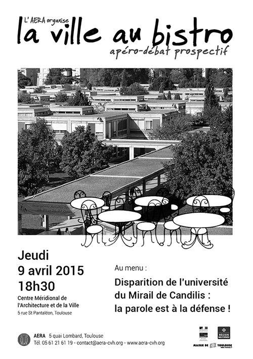 La ville au bistro, apéro-débat prospectif, Toulouse (31000), Midi-Pyrénées