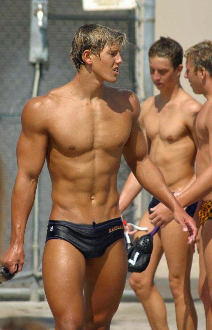 Naked young gay swimmers, hymen virginity photo