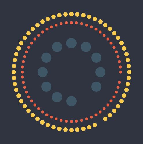 Simple Clock [animated] (code and animation here: http://www.openprocessing.org/sketch/109620)