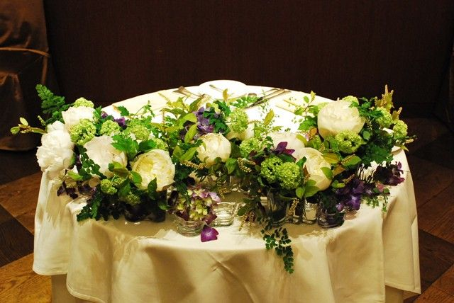 ギャラリー|ウェディングのブーケ・会場装花ならSeul et seuil シュルエスイユ