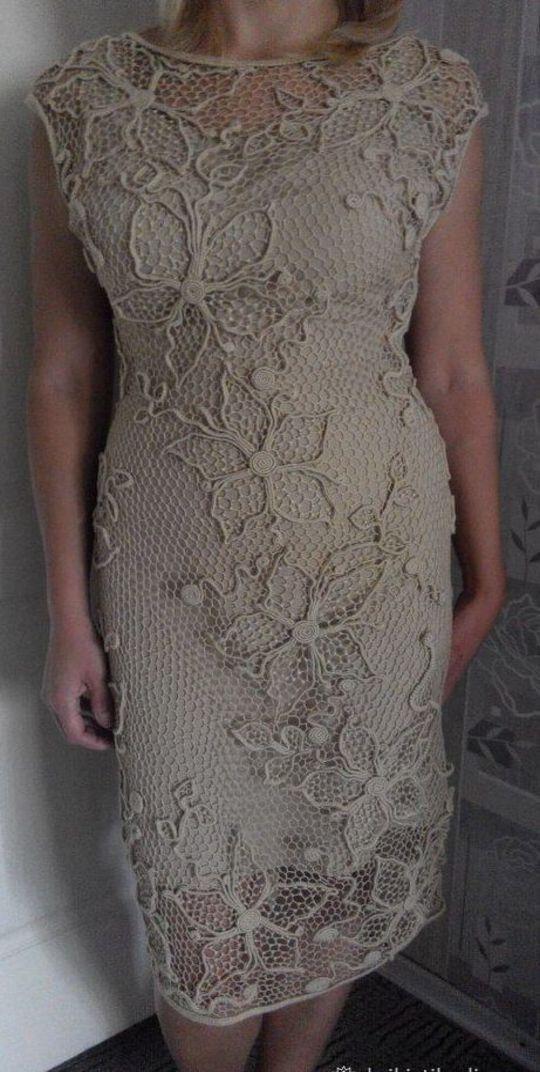 Legends crochet party dress