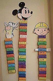 kinderbrievenbus of brievenbus voor wat ze mee naar huis mogen nemen