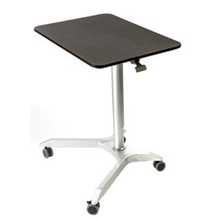 Shop for Seville Classics AIRLIFT™ XL Sit-Stand Mobile Desk, Espresso. Get free delivery at Overstock.com - Your Online Office Furniture Store! Get 5% in rewards with Club O! - 22776693