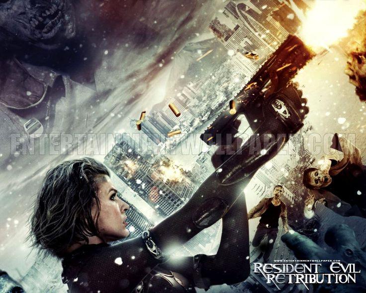 Resident Evil Extinction Movie Wallpapers