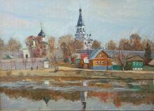 Alexandrovskaya Sloboda - oil, canvas