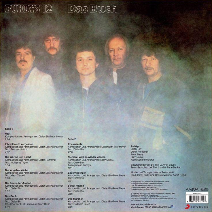 Das Buch [Vinyl LP] - Puhdys: Amazon.de: Musik