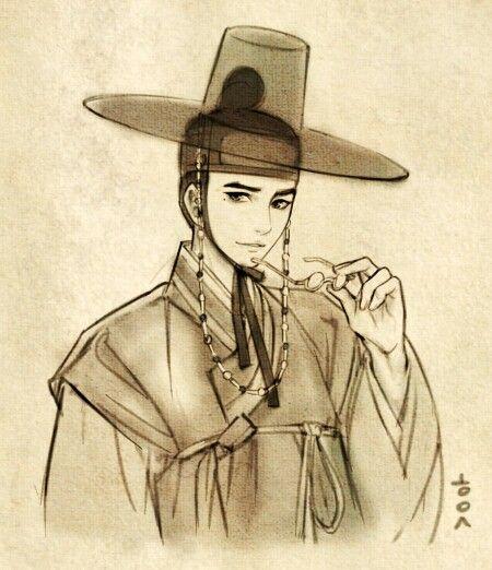 한복 Hanbok : Korean traditional clothes[dress] #흑요석