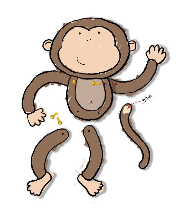 Monkey Craft Kids Crafts Pinterest Monkey Crafts