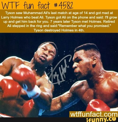 Ali, Tyson Boxing Fact