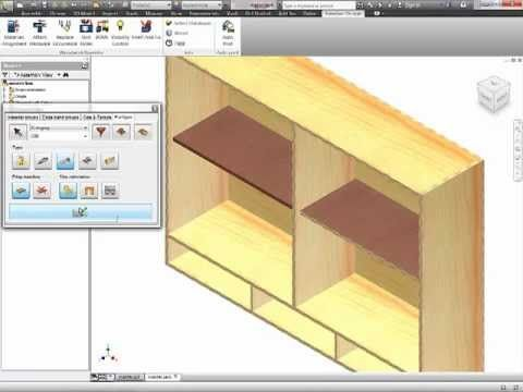 Autodesk Inventor - Woodworking - 3 Part Tutorial Woodworking 4 Inventor...