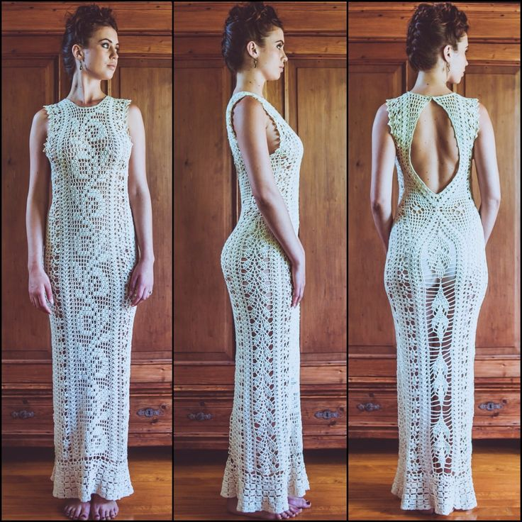 Crocheted Wedding Gown: Isa Catepillán Makes Crochet Wedding Dresses By Hand