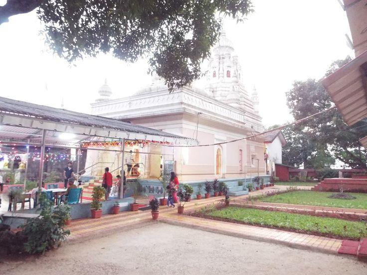 Famous Kade varil ganpati temple at anjarle beach