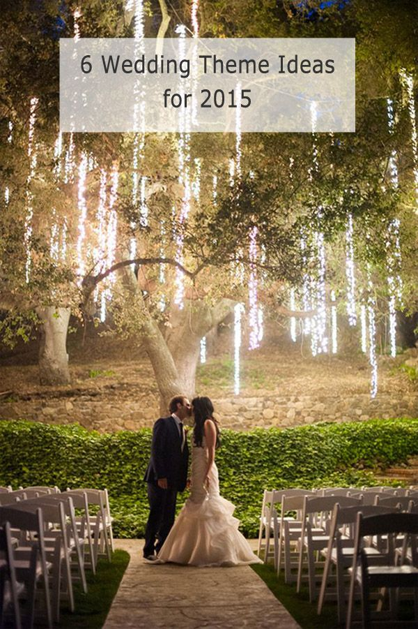 #Wedding #Themes - top 6 trending themes for 2015 wedding ideas http://www.weddingsknowhow.com