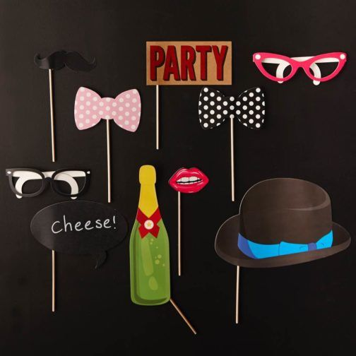 Photocall Fiesta  #PhotocallParty #FunnyParty #Party #Funny #glasses #hat