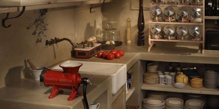 Cocinas rústicas con aroma a campo