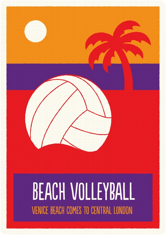 Beach Volleyball - Find out facts and the rules of this sport by downloading my app - http://curlyspocketguide.com/