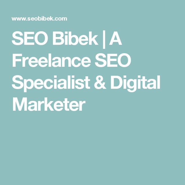 I'm Bibek, a self taught Digital Marketer in Nepal. As a Freelance SEO Specialist, a SEO Expert & a SEO Counsultant, I can help you dominate search engines.