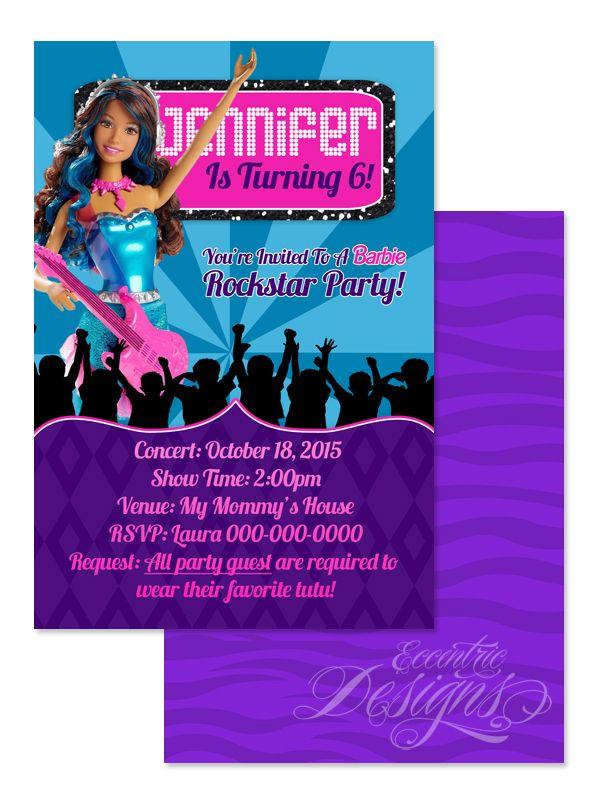 123 best Children Birthday Party Invitation Designs images on ...