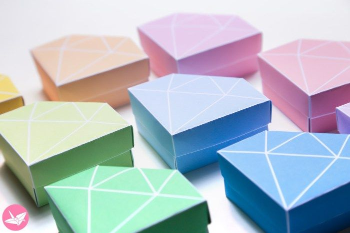 Origami Star Box Directions #1 | Origami stars, Origami star box ... | 467x700
