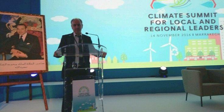 Στην Παγκόσμια Διάσκεψη (COP22) του ΟΗΕ για την Κλιματική Αλλαγή η Περιφέρεια Δυτικής Ελλάδας με τον Γ. Αγγελόπουλο