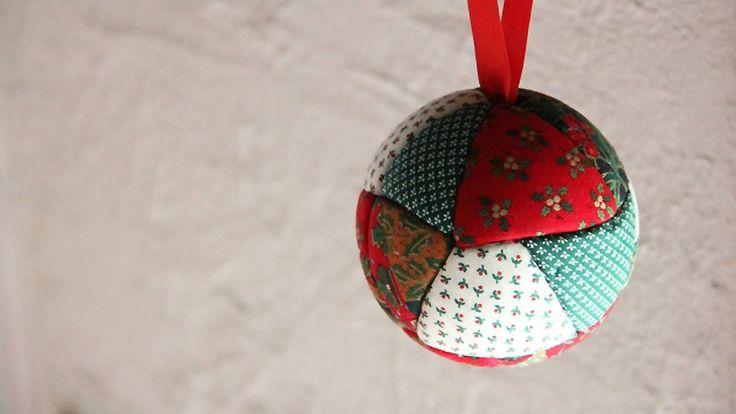 Лоскутное Рождественский бал