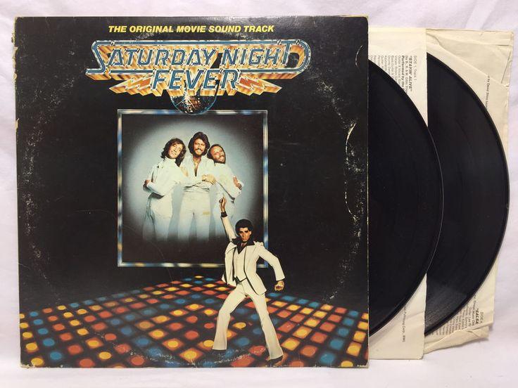 Saturday Night Fever Soundtrack LP Vinyl Record Original Motion Picture Sdtk