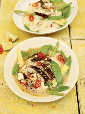 Asian Chicken Noodle Broth | goop.com