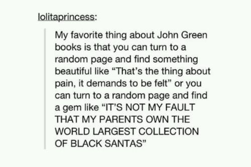 black santa paper towns - Google Search