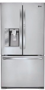 LG LFX31945 Super Capacity 3-Door French Door Refrigerator with Door-in-Door, Stainless Steel...but without the water & ice dispenser